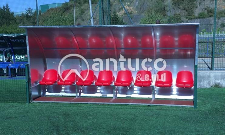 BANQUILLO ANTI VANDALICO  8 jugadores